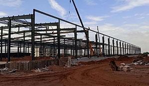赣州钢结构工程钢结构厂房的优点